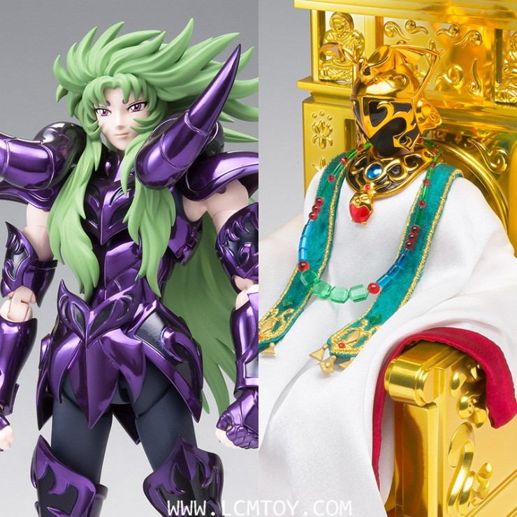 [Pre-Order] EX Aries Shion (Surplice) & Pope Set (Bandai)