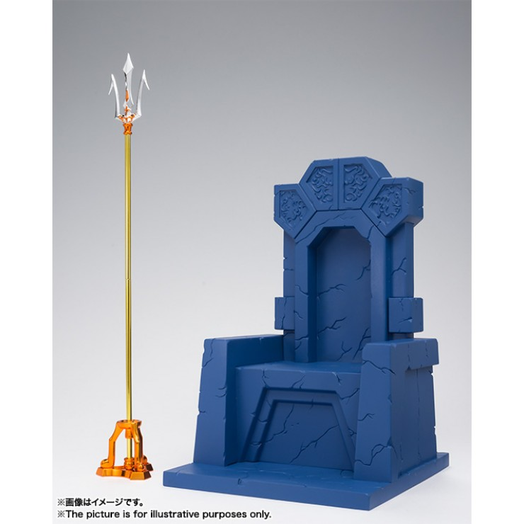 EX Sea Emperor Poseidon - Imperial Throne Set (Bandai)