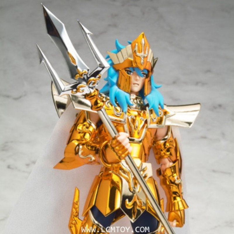 Die-cast Tridents for Poseidon & Libra Dohko