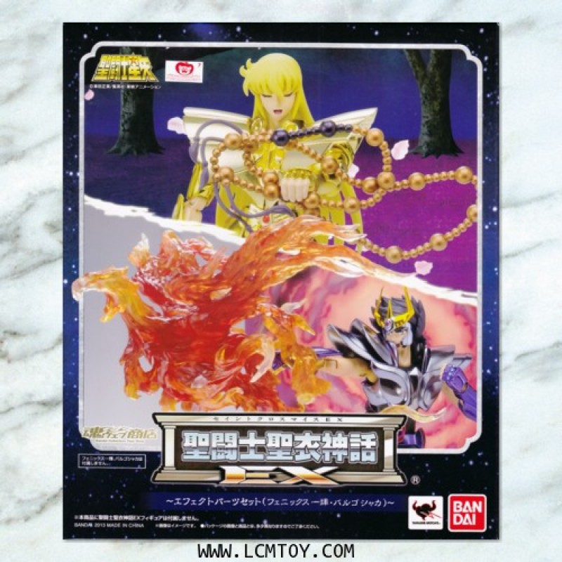 EX Effect Parts Set (Virgo Shaka & Phoenix Ikki) (Bandai)