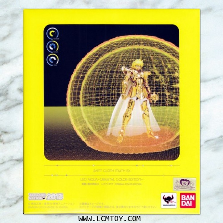 EX Leo Aiolia - Original Color Edition (Bandai)