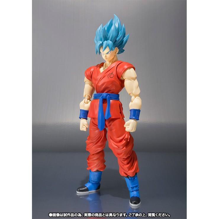 S.H.Figuarts Son Gokou - Super Saiyan God SS (Bandai)