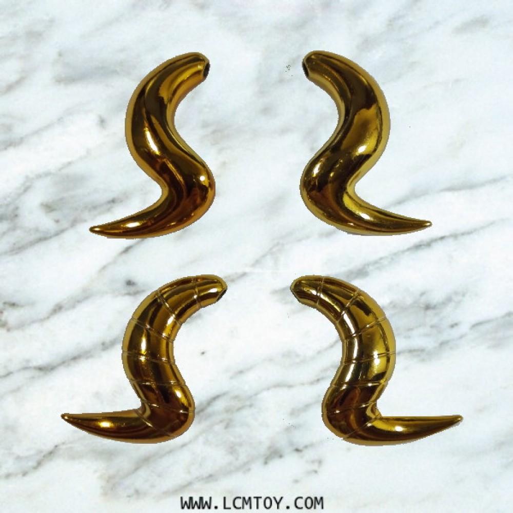 Die-cast Horns for EX Aries Mu - Original Color Edition (Toyzone)