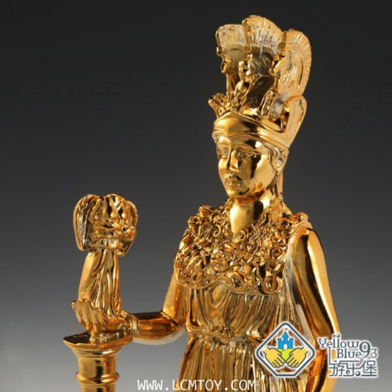 Athena Statue - Golden Edition (YellowBlue93)