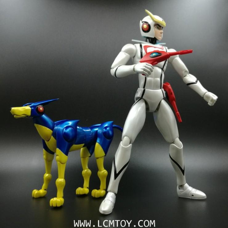 Casshern Sins & Friender (Icarus Toys)